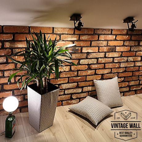 Płytki z cegły na ściane rozbiórkowe lico ceglane płytka retro VINTAGE