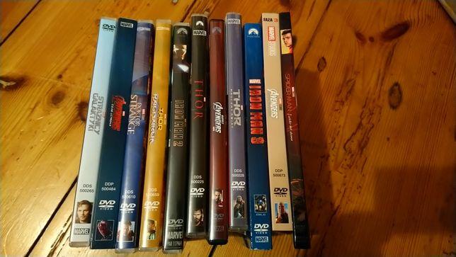 11 DVD Marvel Thor Avengers Iron Man Doktor Strange Strażnicy Galaktyk