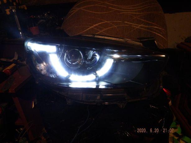 Usługa naprawy lampy wymiany diód led MAZDA CX5