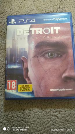 Продам Detroit become На ps4