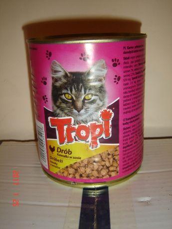 Karma dla kota puszka 830 g