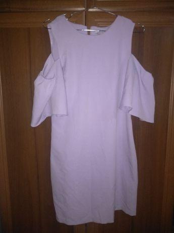 Ніжне плаття фіолетове