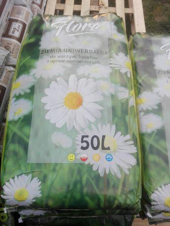Ziemia uniwersalna 50litrów 15 zł