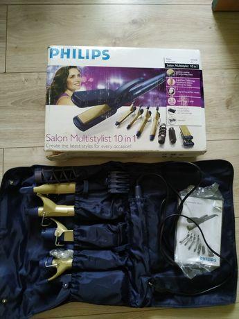 Zestaw lokówka prostownica karbownica Philips