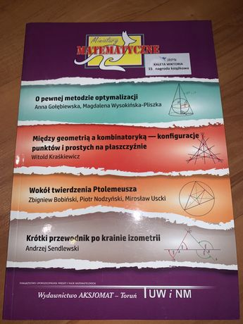 Miniatury matematyczne 67- Aksjomat Kangur