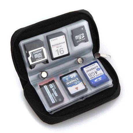 Органайзер холдер для SD Micro SDXC CF SIM карт Чехол для карт памяти