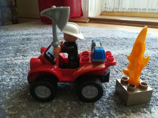 Lego duplo 5603 straż pożarna quad
