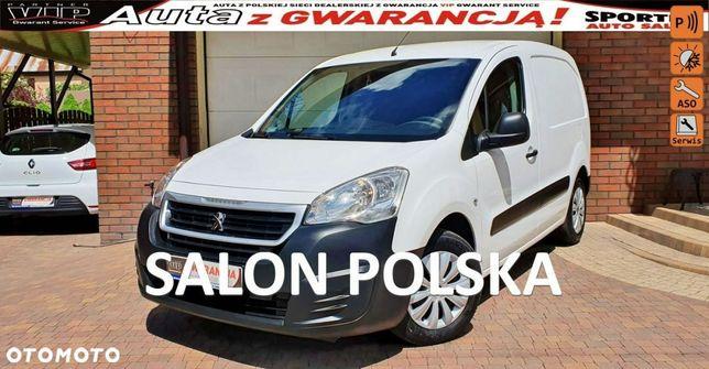 Peugeot Partner  TYLKO-86 tys km! 100KM VAT-1 Tempomat AC, Salon PL,I WŁ F.vat23%,