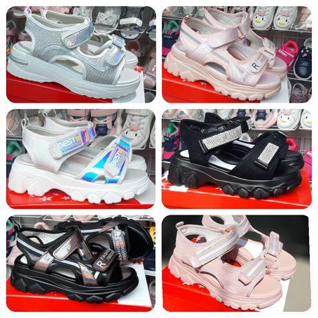 Босоножки, сандалии для девочки, мальчика 26-31-37-41