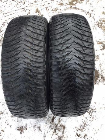 Goodyear 205/55r16 2 шт зима резина шины б/у склад