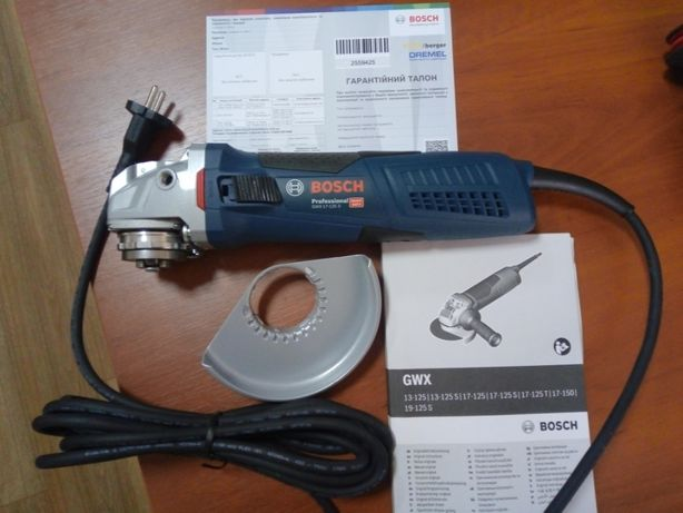 Болгарка Bosch GWX 17-125 S