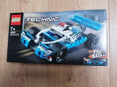 Lego technic 42091 policja nowe