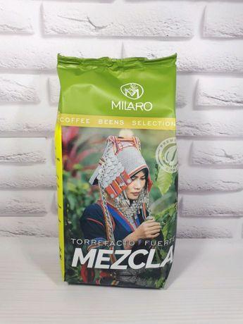 испанский кофе Milaro Mezcla Torrefacto Fuerte в зернах 1кг