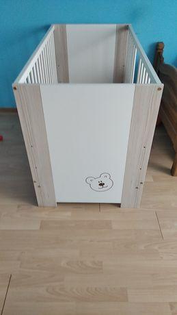Łóżeczko dziecięce plus materac ochraniacz gratis
