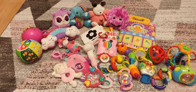 Zabawki niemowlęce KOMPLET