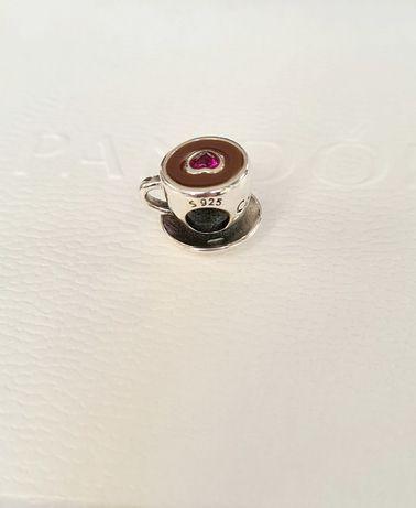 Charms kawa  srebro próba 925 do Pandora,Apart,Yes