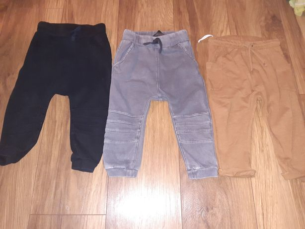 Joggery spodnie h&m 86