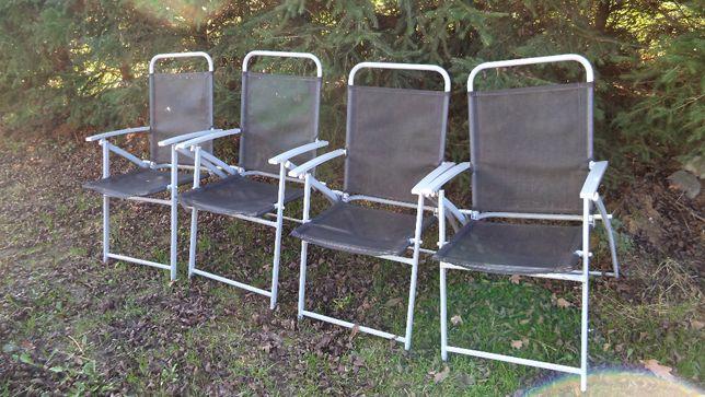 Krzesła ogrodowe składane na balkon , taras do ogrodu