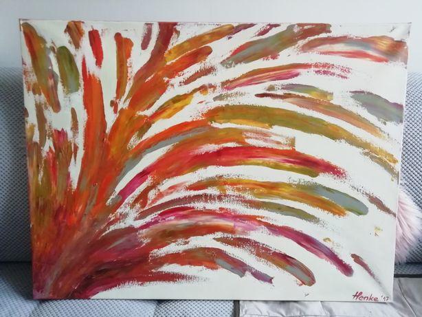 Obraz olejny kolorowy