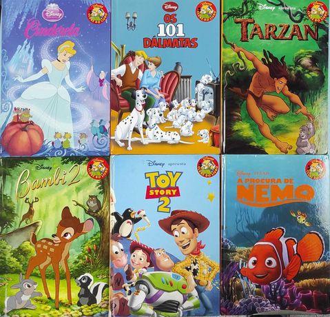 Lote de Livros Disney