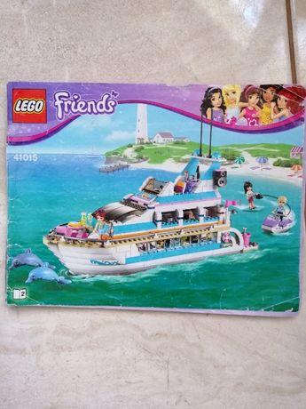 Jacht lego friends 41109