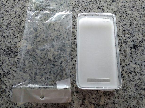 Capa silicone Xiaomi 4.0 nova