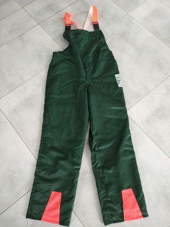 Spodnie pilarza lesne,antyprzecięciowe