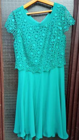 Англия. Miss Jannel женское ярко-зеленое вечернее платье выпускной