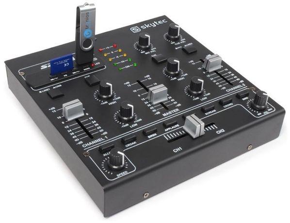 Mikser 4-kanałowy SkyTec STM-2250 MP3/USB/SD