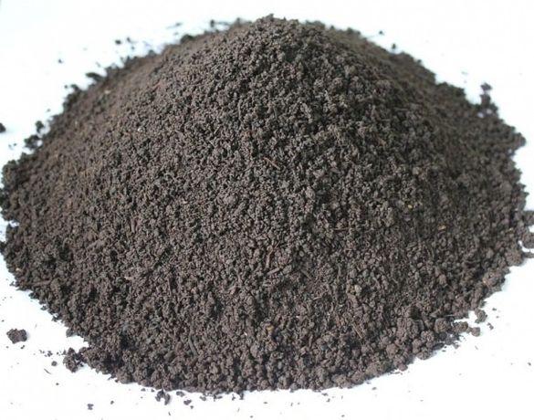 Биогумус гумус (вермикомпост) 20кг мешок