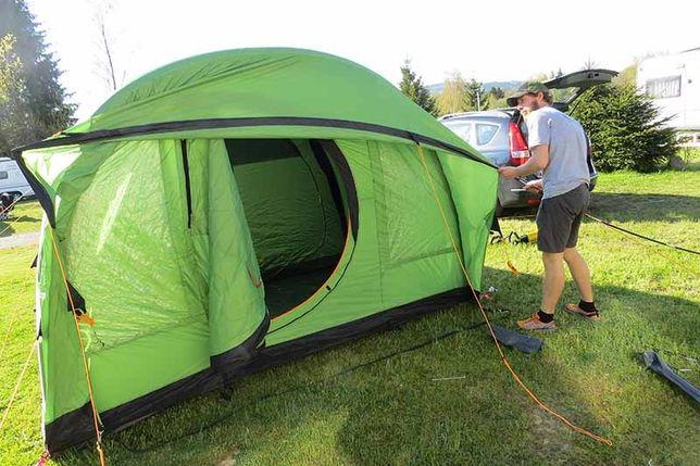 Палатка Coleman Valdes Fastpitch Air 4 с надувными дугами быстрой уста