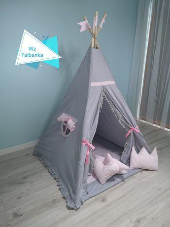 Namiot Tipi dla dzieci zestaw