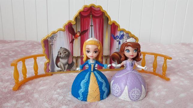 Tańcząca księżniczka Zosia i Amber - z magnesem