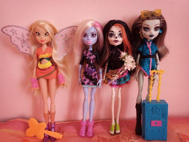 Куклы Winx/винкс монстер хай/monster highСтеллаСкелитаКлодинБлумФренки