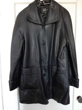 Женская Кожаная куртка, кожаный пиджак, р. 52, р.54 осень-весна
