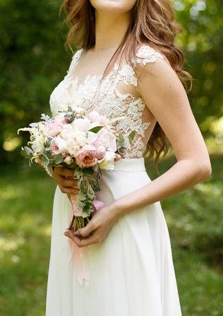 Шикарное свадебное платье (Sonata Lux)