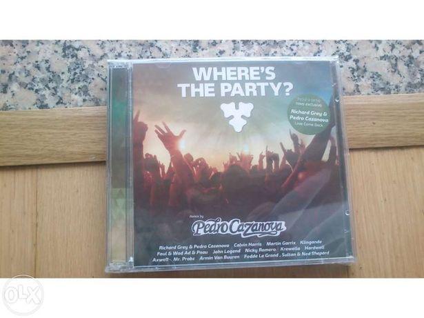 Cd where´s the party remix by Pedro Cazanova