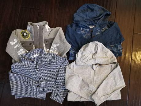 Ubrania dla chłopca zestaw r. 98/104