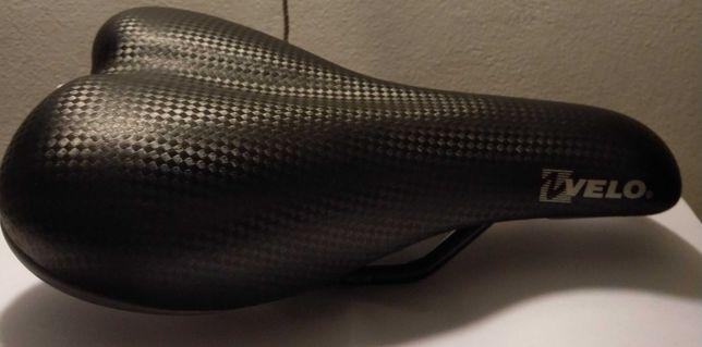 Super siodełko siodło dziecęce VELO czarne praktycznie nowe