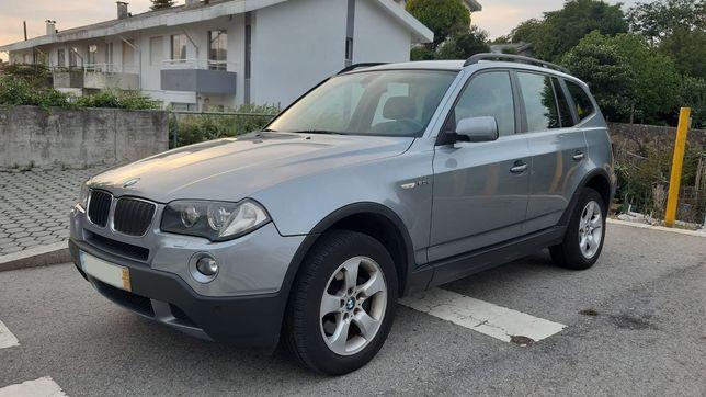 BMW X3 2.0d 177cv 2008 - ótimo estado