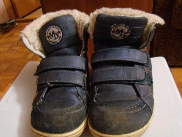 Ботинки зимние на мальчика 36-й размер