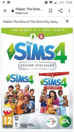 Gra The Sims 4 + dodatki