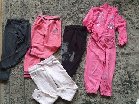Zestaw spodnie dla dziewczynki 3-4lata rozmiar 104