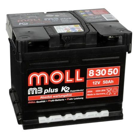 Akumulator Moll M3 plus K2 50Ah 420A