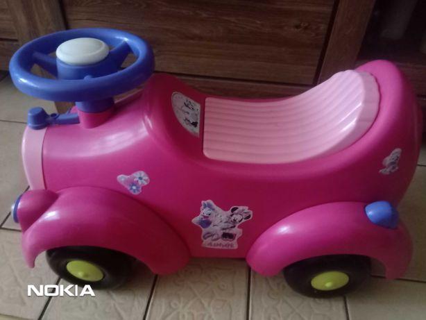 Jeździk, samochód Myszka Minnie
