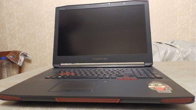 Игровой ноутбук  GTX1080, 17.3 дюймов, Core i7 7820HK, G-Sinc 75