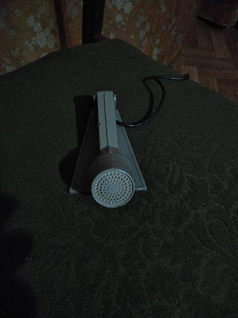 Микрофон, диапазон частот 100-10000гц, 250 ом, кабель 1,5м,