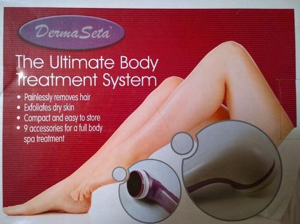 Derma Seta. Эпилятор, массажёр и набор по уходу за кожей.