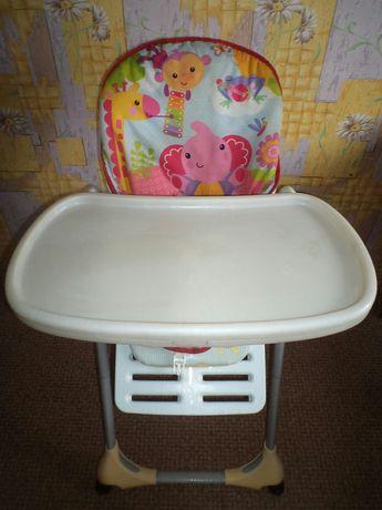 """Дёшево!Продам детский стульчик+столик """"Chicco"""" для кормления!"""