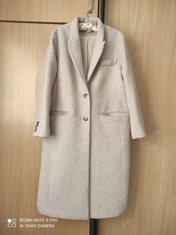 Płaszcz H&M, ciepły dłuższy